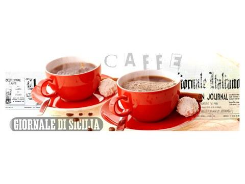 Las imágenes con motivos de café rojos