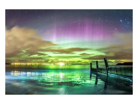 Picture aurora boreal