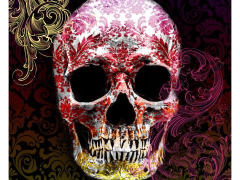 Cráneo de color