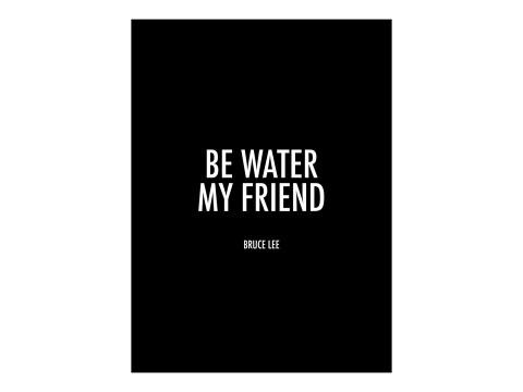 Sea agua mi amigo