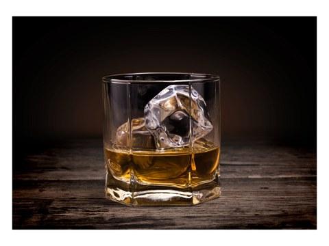 del whisky de cristal